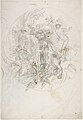 Design for a Ceiling Decoration (recto); Daphne Pursued by Apollo (verso) MET DP809477.jpg