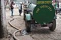 Desludging truck in action Nepal.jpg