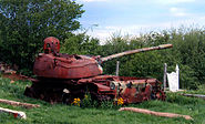 Destroyed-t-55-tank-Kosovo