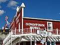 Detail of Downtown Hotel Facade - Dawson City - Yukon Territory - Canada.jpg