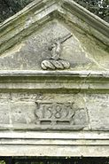 Detail of Tudor gateway from Badsell