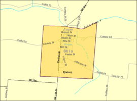 Detailed map of Quincy, Ohio.png