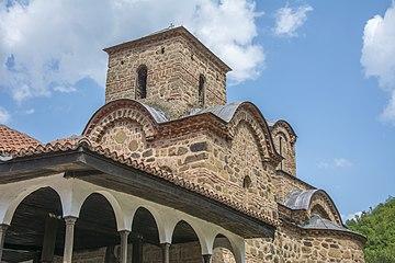 Detalj iz Poganovskog manastira