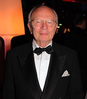 Friedrich Nowottny - Friedrich Nowottny at German television award, 2012