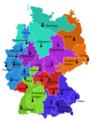Deutschland Kirchenprovinzen beschriftet.png