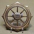 Dharma wheel, Japan, Kamakura period, 1200s AD, bronze - Tokyo National Museum - Tokyo, Japan - DSC09326.jpg
