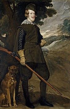 Diego Rodríguez Velázquez - Felipe IV, cazador (Prado, Madrid).jpg