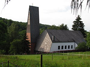 Diekholzen - Protestant Church (1963), Diekholzen.