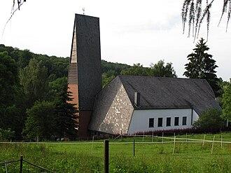 Diekholzen - Protestant Church (1963), Diekholzen.