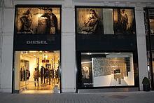 Diesel Black & Gold store in Vienna, Austria