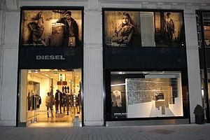 Diesel (brand) - Diesel Black Gold store in Vienna, Austria