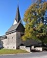 Diex Wehranlage und Pfarrkirche hl. Martin NO-Ansicht 01112011 135.jpg