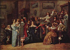 Dirck Hals - Dirck Hals, Merry Company, Staatsgalerie Stuttgart, 1640