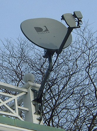 "DirecTV - DirecTV AT-9 5-LNB ""Sidecar"" satellite dish"