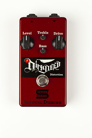 Seymour Duncan - The Dirty Deed distortion pedal, released in late 2013.