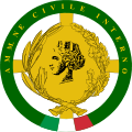 Distintivo amm.ne civile interno.svg