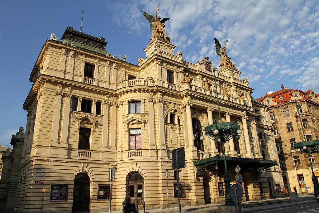 Théatre de Vinohrady à Prague- Photo de Ondřej Kořínek