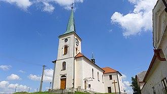 Dlouhá Brtnice - Saint Wenceslaus Church
