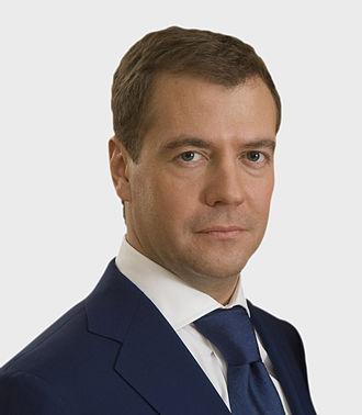 2008 in politics - Dmitry Medvedev