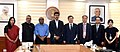 Do Jong-hwan at the signing ceremony of an MoU on sports cooperation between the two nations, in New Delhi.JPG