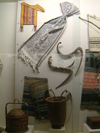 Bru people - Some of the items traditionally used by the Bru people