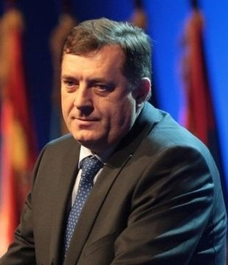 2006 Bosnian general election - Image: Dodik, Milorad, 2010