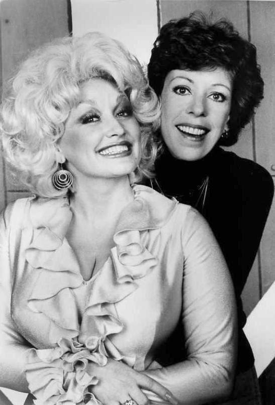 Dolly Parton and Burnett