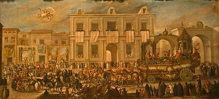 1747 parade organised by the workers of the Royal Tobacco Factory