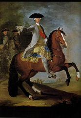Portrait équestre de Charles de Bourbon