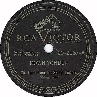 RCA Records - Standard RCA Victor 78 RPM label design from the end of World War II until 1954.