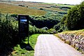 Down the hill to Tintagel Castle - geograph.org.uk - 1518381.jpg