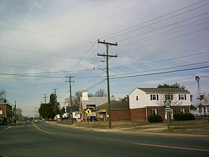 King George, Virginia - Main business district of King George