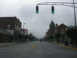 A town in Washington County