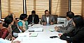 Dr. Jitendra Singh holding a meeting of senior officers of his ministry, in New Delhi on December 09, 2014.jpg