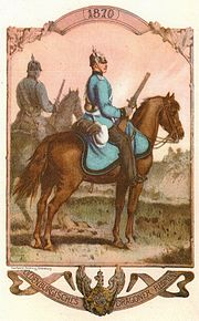 Dragoon Of The Oldenburgian Dragoon Regiment Nr. 19 (in 1870)