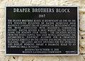 Draper Brothers Block historical marker.jpg