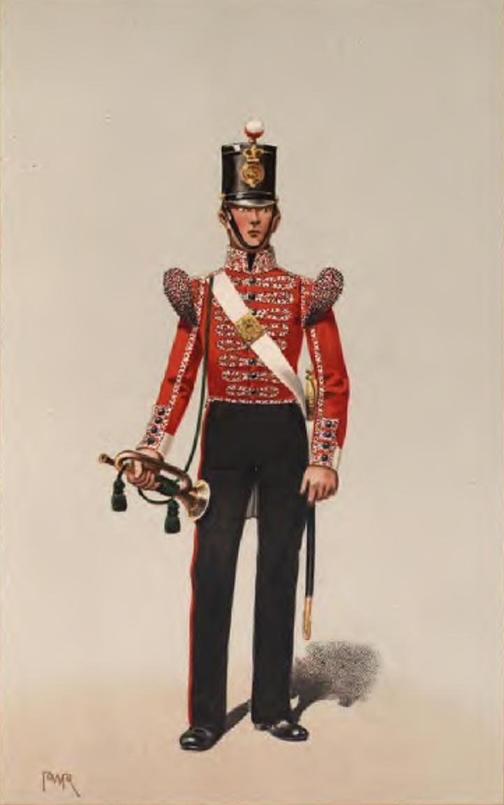 Drummer, 40th Foot, 1848