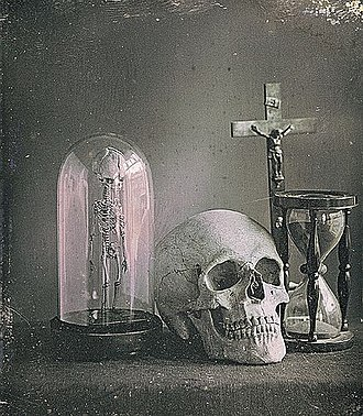 Jules Duboscq - Image: Duboscq Jules Still life with skull
