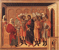 Duccio di Buoninsegna - Christ before Annas.jpg