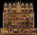 Duccio di Buoninsegna - Conjectural reconstrruction of the Maestà (back) - WGA06741.jpg