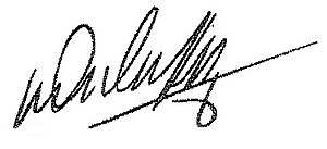 Mike Duffy - Image: Duffy signature