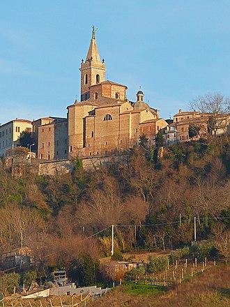 Roman Catholic Diocese of San Benedetto del Tronto-Ripatransone-Montalto - Image: Duomo di Ripatransone