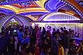 Durga Puja Pandal Interior With Visitors - Bosepukur Sitala Mandir - Kasba - Kolkata 2017-09-26 4180.JPG