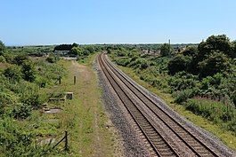 Durham Coast Line, site of Horden railway station 2. 17 07 2017.jpg