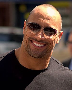 Dwayne Johnson no Tribeca Film Festival em 2009.