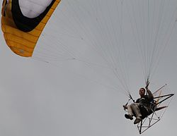 French Electric Paramotor E-Spider