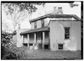 EAST SIDE ELEVATION, LOOKING NORTHEAST - Zelotes Holmes House, 619 East Main Street, Laurens, Laurens County, SC HABS SC,30-LAUR,1-15.tif