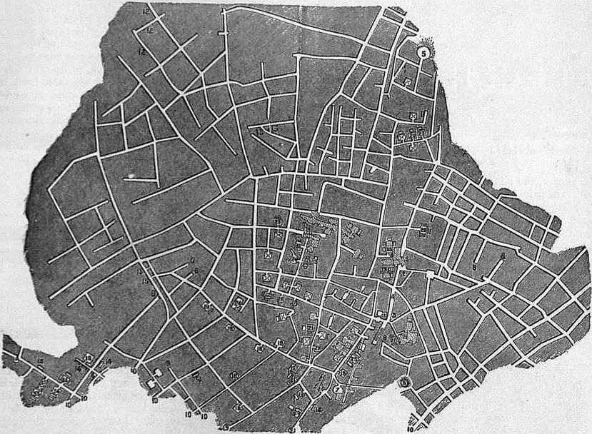 EB1911 Catacomb - Fig. 1.—Plan of part of the Cemetery of Sant' Agnese.jpg