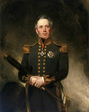 Edward Brace - Rear-Admiral Sir Edward Brace, 1837 Henry William Pickersgill