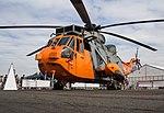 EGLF - Westland Sea King HU5 - XV666 (43743105392).jpg